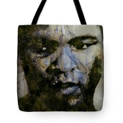 Muhammad Ali  A Change Is Gonna Come Tote Bag by Paul Lovering