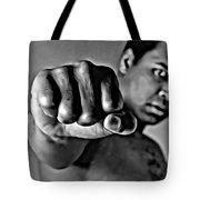 Muhammad Ali Fist Tote Bag