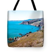 Muir Beach Lookout North View Tote Bag