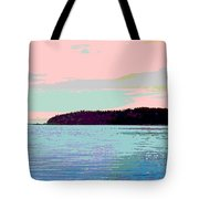 Mukilteo Clinton Ferry Panel 2 Of 3 Tote Bag