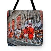 Mulberry Street Graffiti Tote Bag