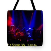 Mule #6 Enhanced With Text Tote Bag