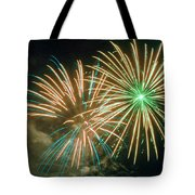 4th Of July Fireworks 2 Tote Bag by Howard Tenke
