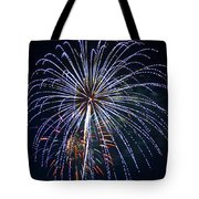 4th Of July Fireworks 12 Tote Bag by Howard Tenke