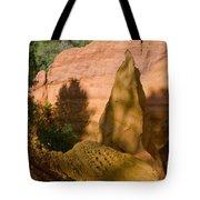 Multi-colored Clay Tote Bag