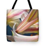 Multi-hued Lilies Tote Bag