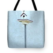 Multi-story Birdhouse Tote Bag
