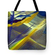 Multicolor Mesh Tote Bag