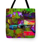 Multicolored Reflections Tote Bag