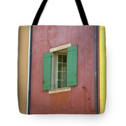 Multicolored Walls, France Tote Bag