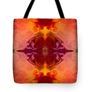 Multilayered Realities Abstract Pattern Artwork By Omaste Witkow Tote Bag