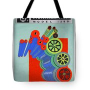 Multilith 1250 Ink Rollers Cylinders Tote Bag