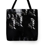 Multiple Angie Dickinson's Collage Young Billy Young Set Old Tucson Arizona 1968-2013 Tote Bag
