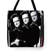 Multiple Johnny Cash Sitting Old Tucson Arizona 1971-2008 Tote Bag