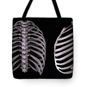 Multiple View Of The Rib Cage Tote Bag