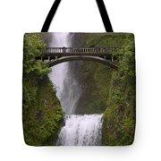 Multnomah Falls Oregon Tote Bag by Gary Grayson