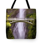 Multnomah Falls Silk Tote Bag