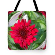 Mum Abstract A Square Tote Bag
