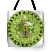 Medallion Tote Bag by Douglas K Limon