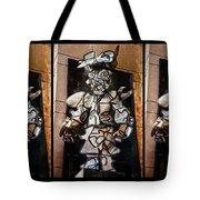 Mummer Man Triptych Tote Bag