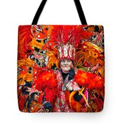 Mummer Red Tote Bag