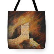 Mummy Cave Ruins 2 Tote Bag