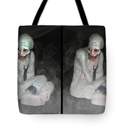 Mummy Dearest - Cross Your Eyes And Focus On The Middle Image That Appears Tote Bag
