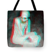 Mummy Dearest - Use Red-cyan Filtered 3d Glasses Tote Bag