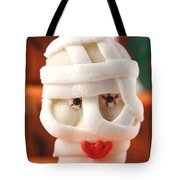 Mummy Sweet On Halloween Cup Cake Tote Bag