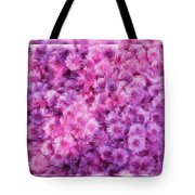 Mums In Purple - Featured In 'comfortable Art' And 'nature Photography' Groups Tote Bag