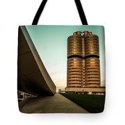 munich - BMW office - vintage Tote Bag
