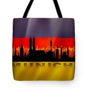 Munich City Tote Bag