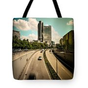 Munich Traffic Tote Bag