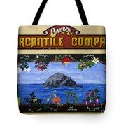 Mural Bandon Mercantile Company Tote Bag