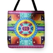 Mural Painting By H101 Tote Bag