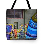Mural - Wall Art Tote Bag