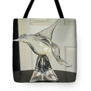 Murano Crystal Bird Tote Bag