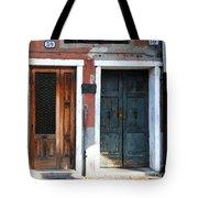 Murano Doors Tote Bag