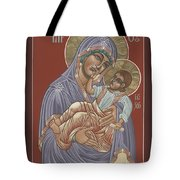 Murom Icon Of The Mother Of God 230 Tote Bag