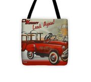 Murray Fire Truck Tote Bag