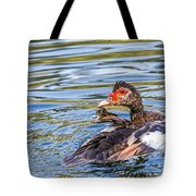 Muscovy Hen Tote Bag