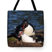 Muscovy Love Tote Bag