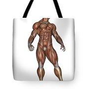 Muscular Man Standing Tote Bag