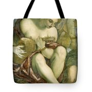 Muse With Lute Tote Bag