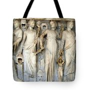 Muses And Poets Tote Bag