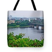Museum Of Civilization Across The Ottawa River In Gatineau-qc Tote Bag