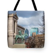 Museum Of Fine Arts View Tote Bag