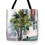 Museum Palm Tote Bag