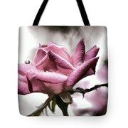 Museum Park Pink Rose Tote Bag