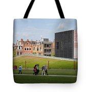 Museumplein Lawn In Amsterdam Tote Bag